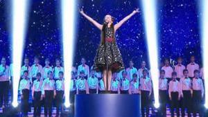 Melani, ganadora de La Voz Kids 4, interpretando 'Nessum Dorma'.