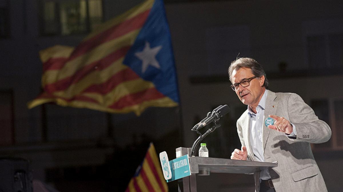 Mas: España puede estar unificada con Catalunya o sin ella