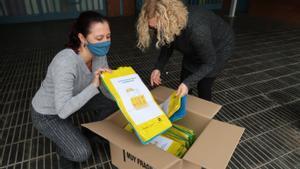 Presentación de una campaña de recogida de residuos del Ayuntamiento de Gavà