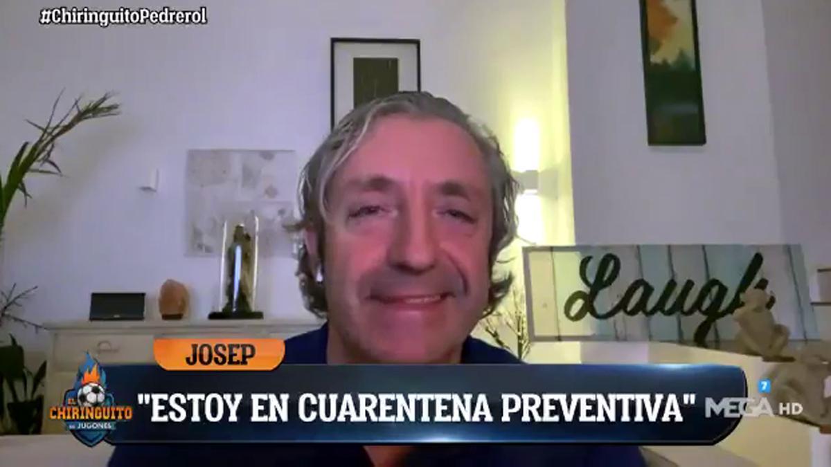 """Pedrerol explica el motivo de su ausencia en 'El chiringuito': """"Estoy en cuarentena preventiva"""""""