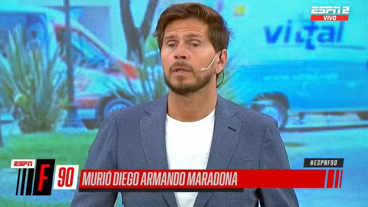 """Conmoción en la televisión argentina por la muerte de Maradona: """"Murió Diego"""""""
