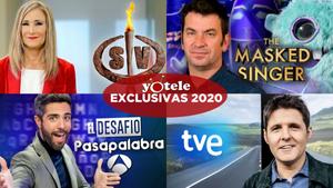 Algunas de las exclusivas que YOTELE ha publicado en 2020.