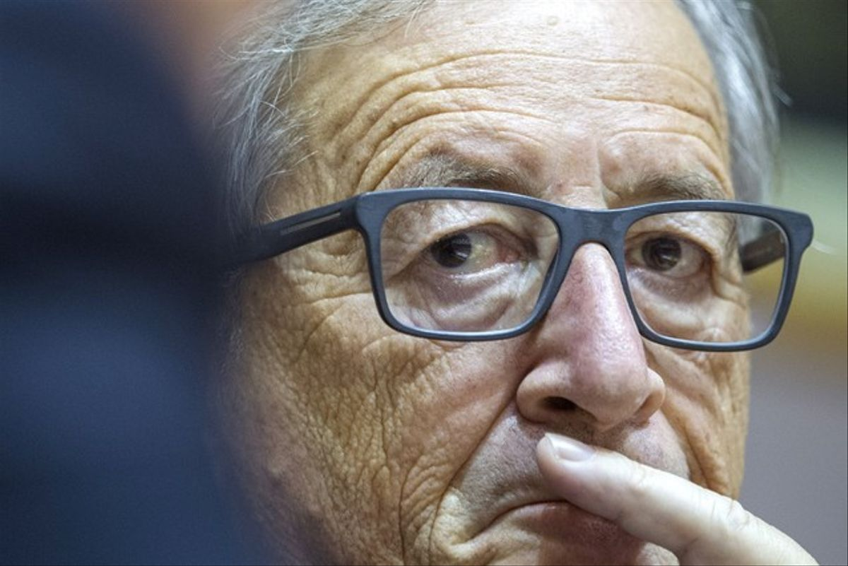 El presidente de la Comisión Europea, Jean-Claude Juncker, el pasado 17 de septiembre.