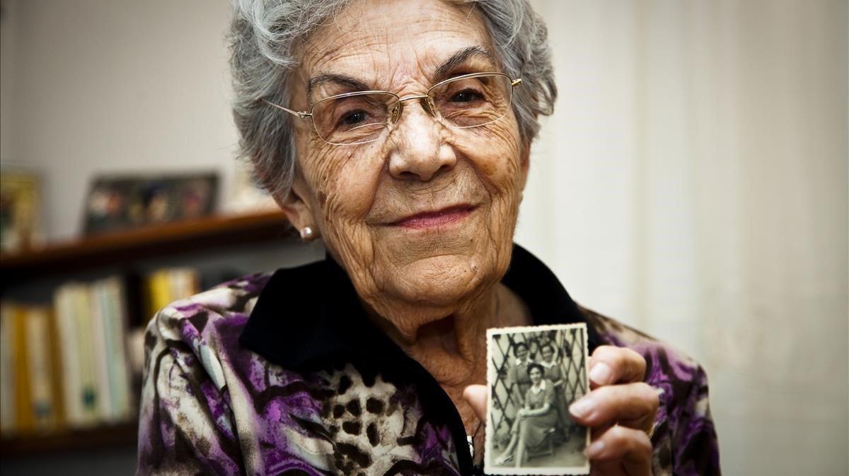 Mor la lluitadora antifranquista Maria Salvo