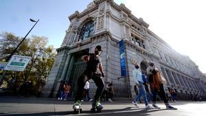 En la imagen la fachada del Banco de España.