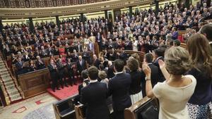El Congrés acull el 41è aniversari de la Constitució amb la investidura de Sánchez en l'aire