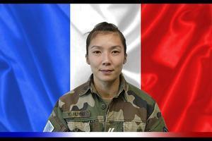 La sargento Yvonne Huynh, una de las víctimas del ataque.