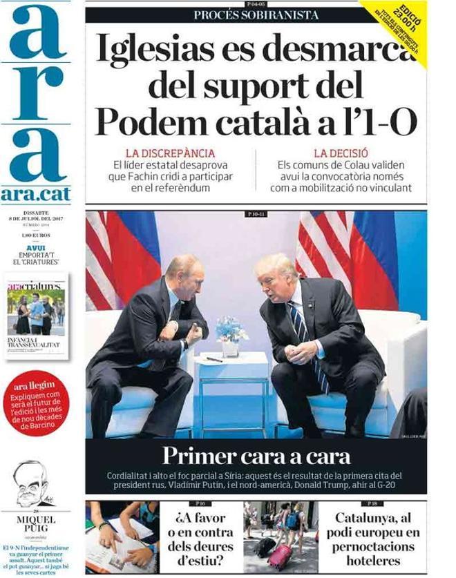 Rajoy se inclina por aplicar la ley de seguridad nacional en Catalunya, según 'El Mundo'