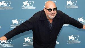 Gianfranco Rosi, este martes en Venecia.