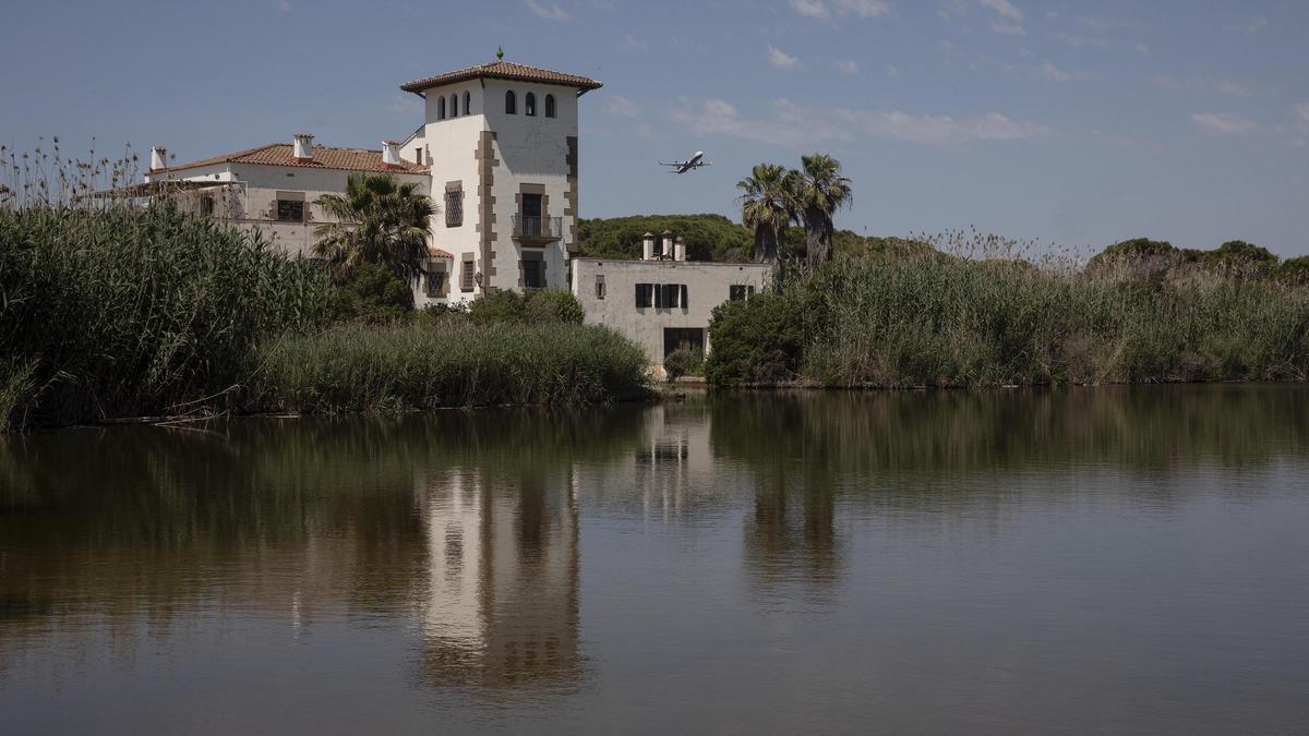 La ampliación del aeropuerto de El Prat pone en peligro el estanque de la Ricarda.