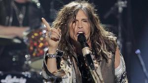 Steven Tyler, líder de Aerosmith, en un concierto en Los Ángeles.
