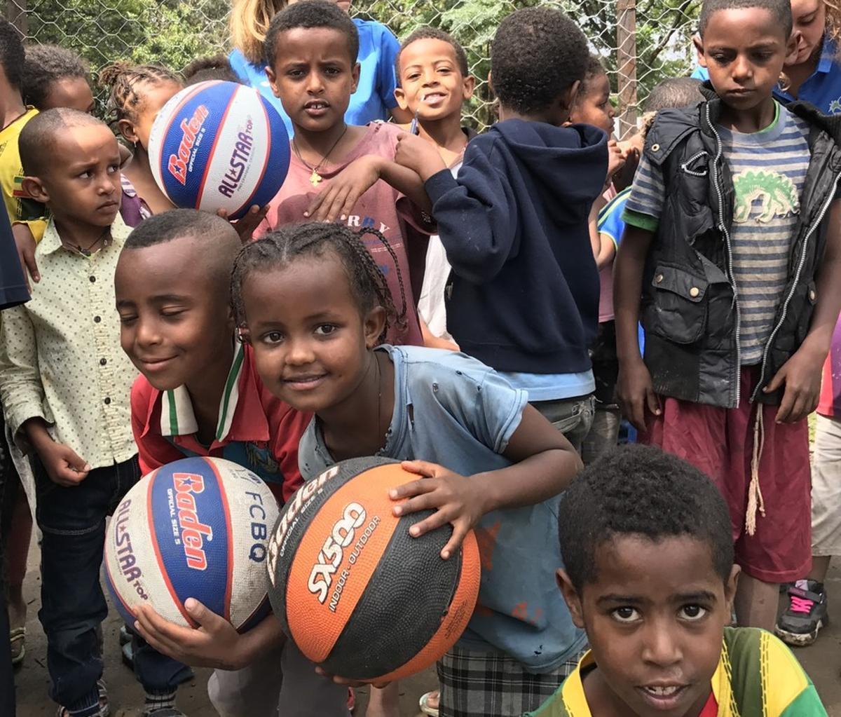 El básquet etíope hablará catalán