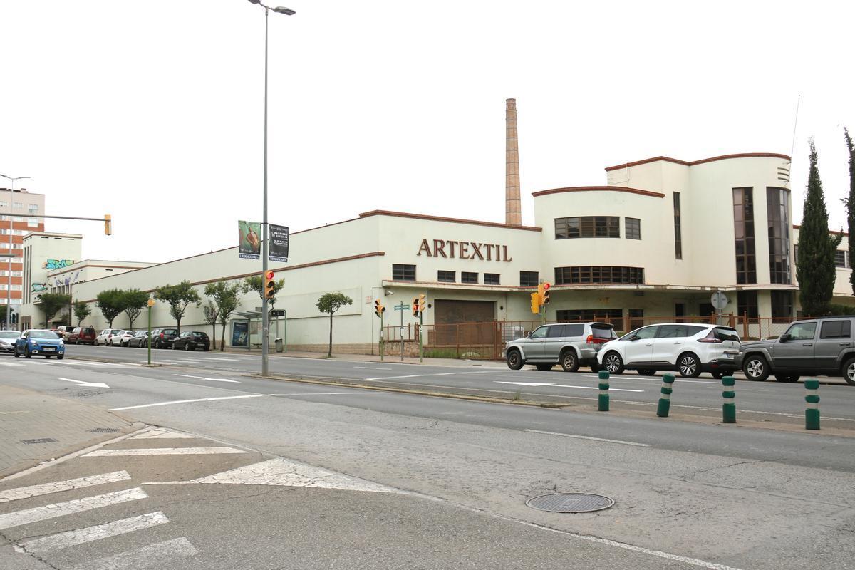 Plano general del edificio Artèxtil de Sabadell