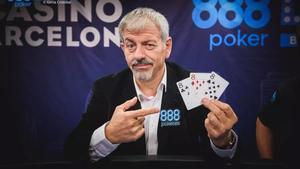 El presentador de televisión Carlos Sobera, en un anuncio de la casa de apuestas 888.