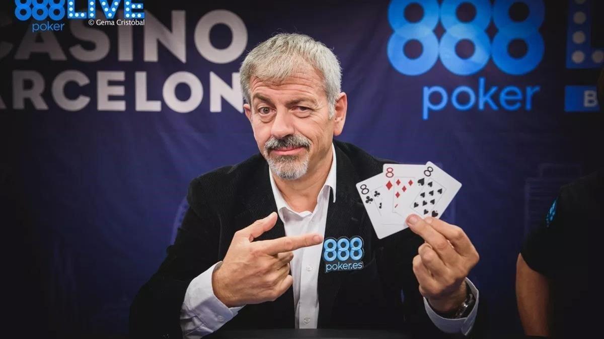 El actor y presentador Carlos Sobera en un anuncio de una casa de apuestas.