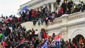 Asalto al Capitolio, el pasado 6 de enero.
