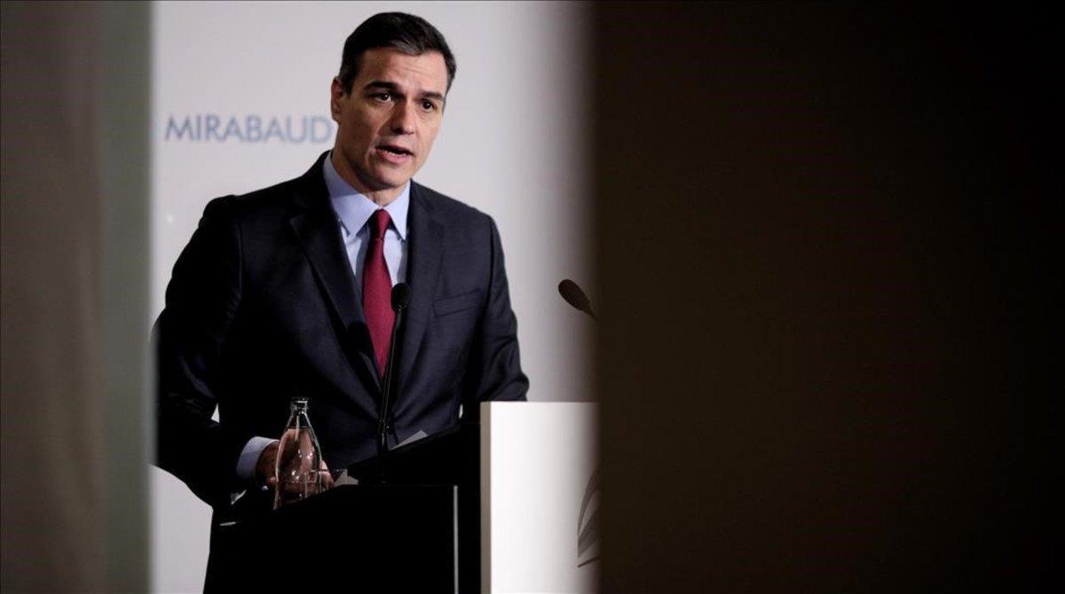 Pedro Sánchez, el pasado 20 de noviembre en Madrid.