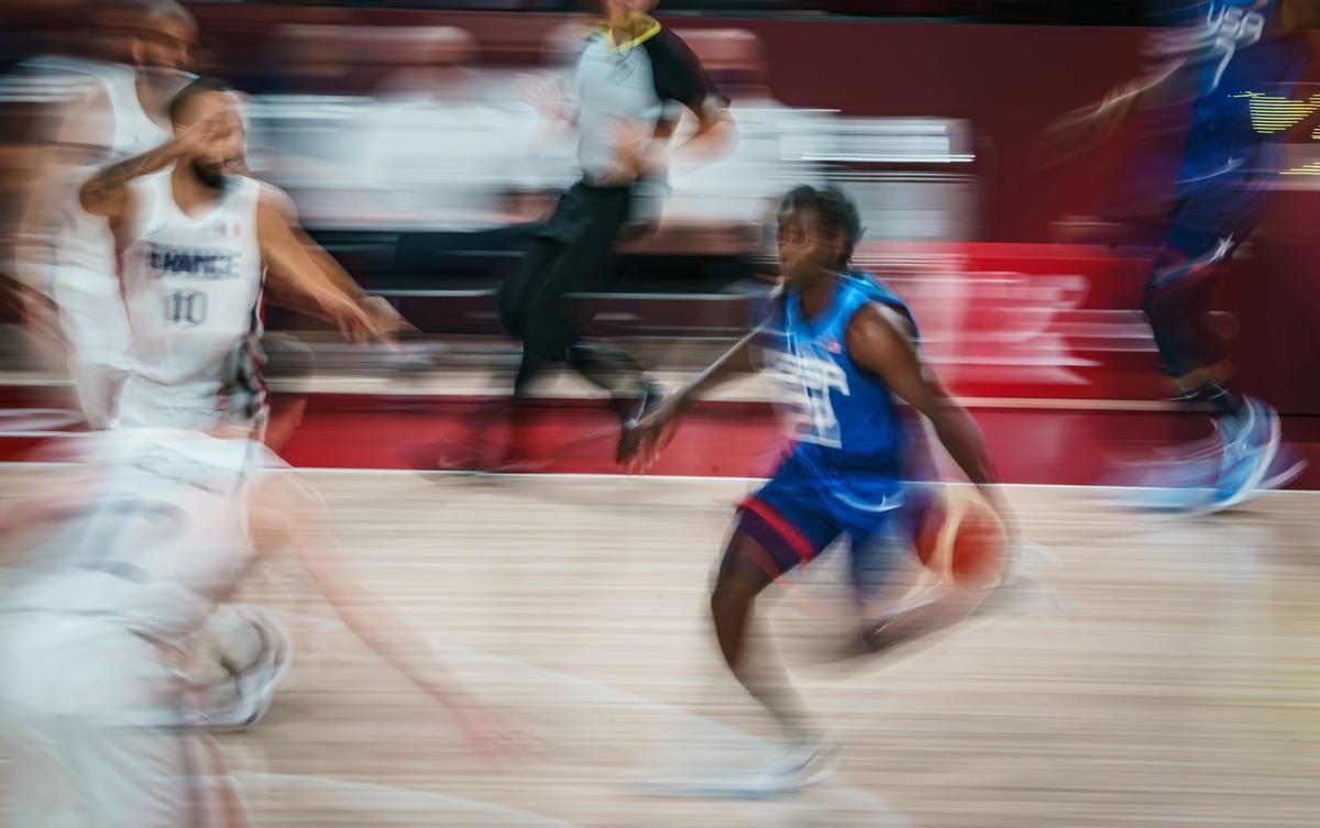 El 'dream team' de EEUU cae ante Francia y pierde su primer partido olímpico en 17 años
