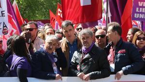 Els sindicats prenen el carrer en defensa de l'alça dels salaris