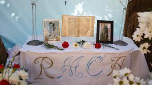 'Botellon' versus religió a la Creu de Montigalà de Badalona