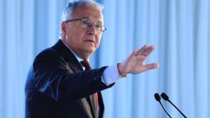 Josep Bou, durante su intervención en el foro Primera Plana.
