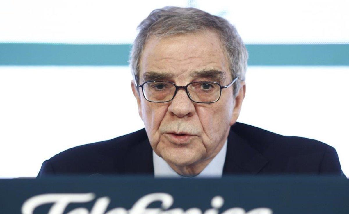 César Alierta, en una imagen de febrero del 2018.