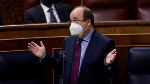 Miquel Iceta, en el Congreso.