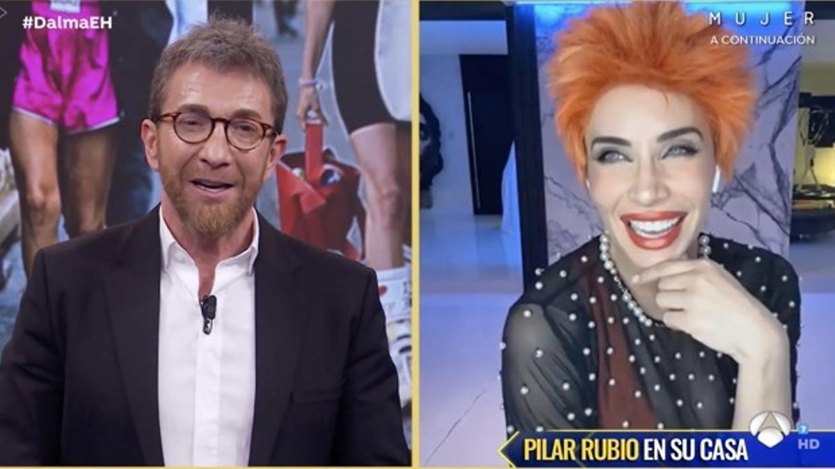 Pilar Rubio desde casa