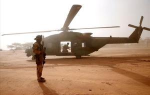 Tretze militars francesos moren en un accident d'helicòpter a Mali