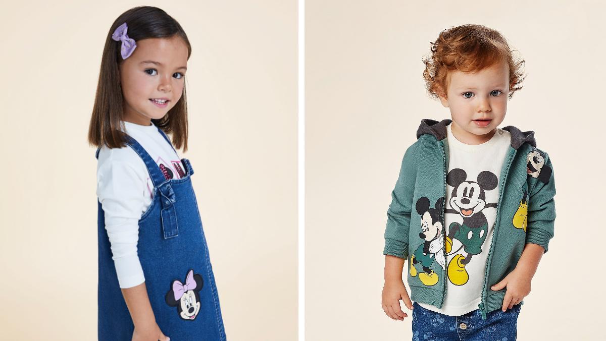 Algunas de las prendas de la nueva colección Disney de la firma Mayoral.