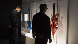 Guitarras impresas en 3D en la exposición PRINT3D enel CosmoCaixa