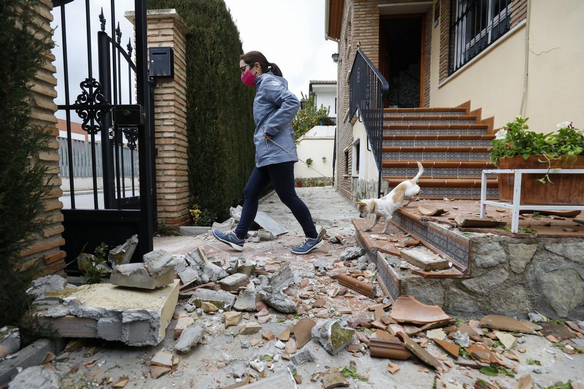 Un terremoto de magnitud 4,4 deja un herido en Granada