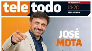 Portada de 'Teletodo' protagonizada por José Mota.