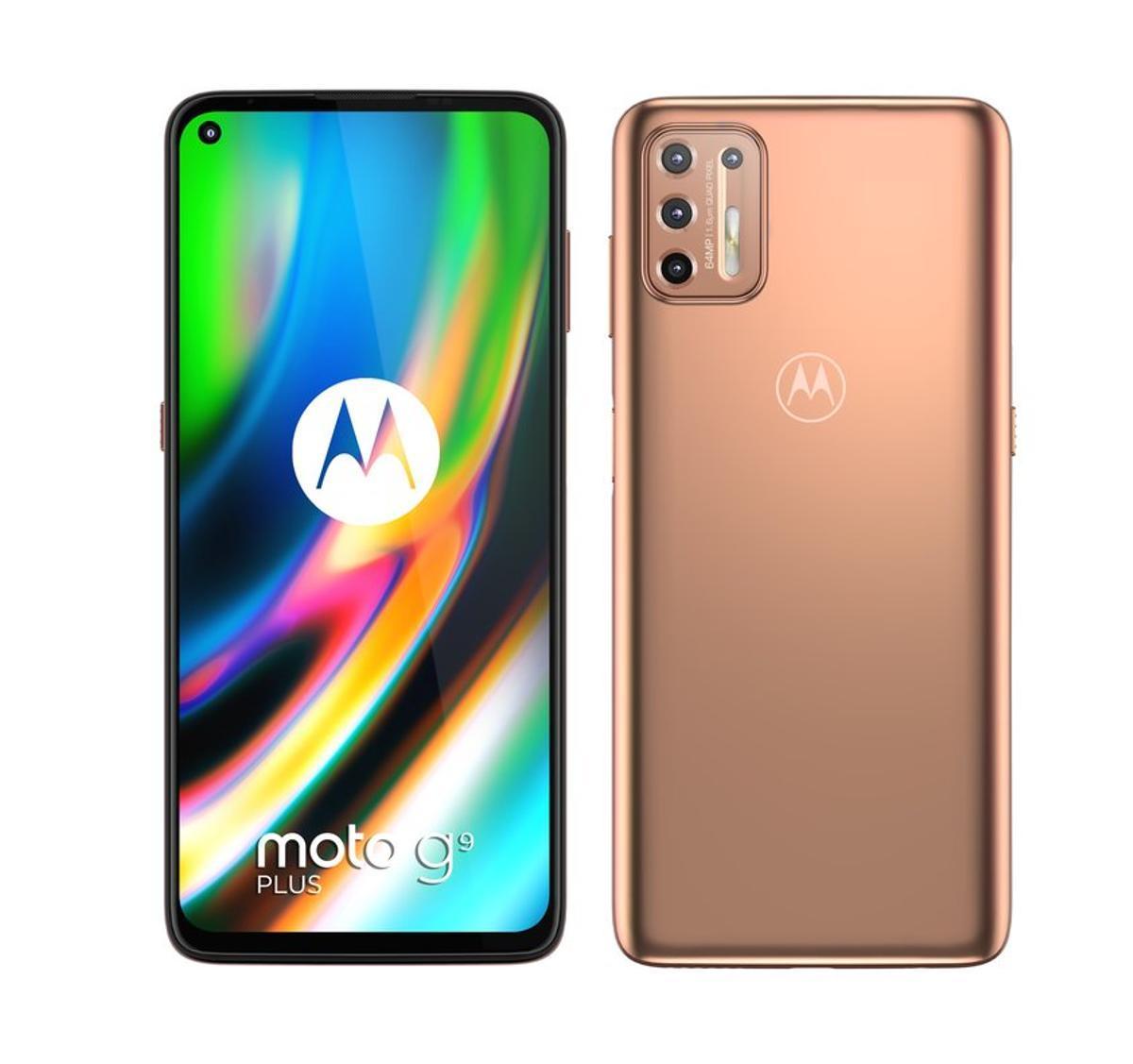 Motorola llança els moto g9 plus i moto e7 plus