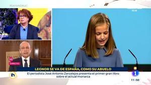 Críticas a TVE por el titular sobre la Infanta