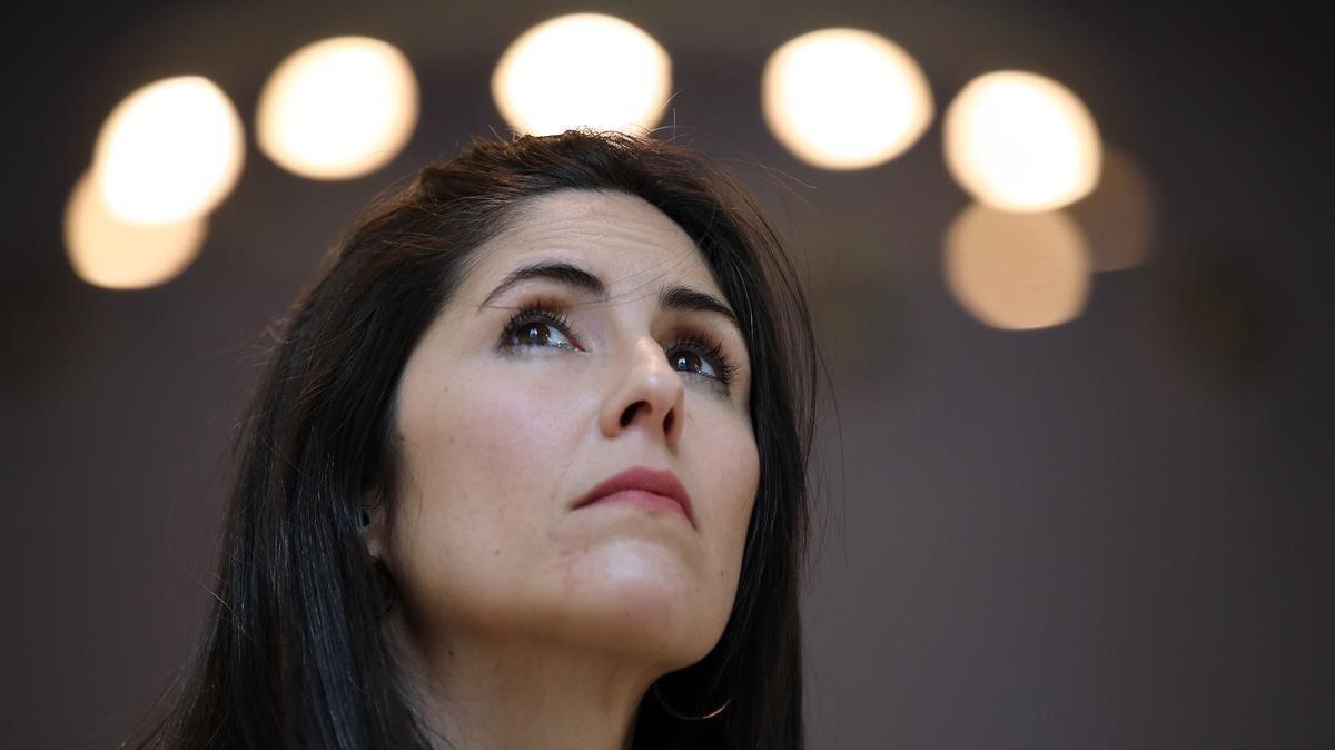 La escritora barcelonesa Raquel Taranilla.
