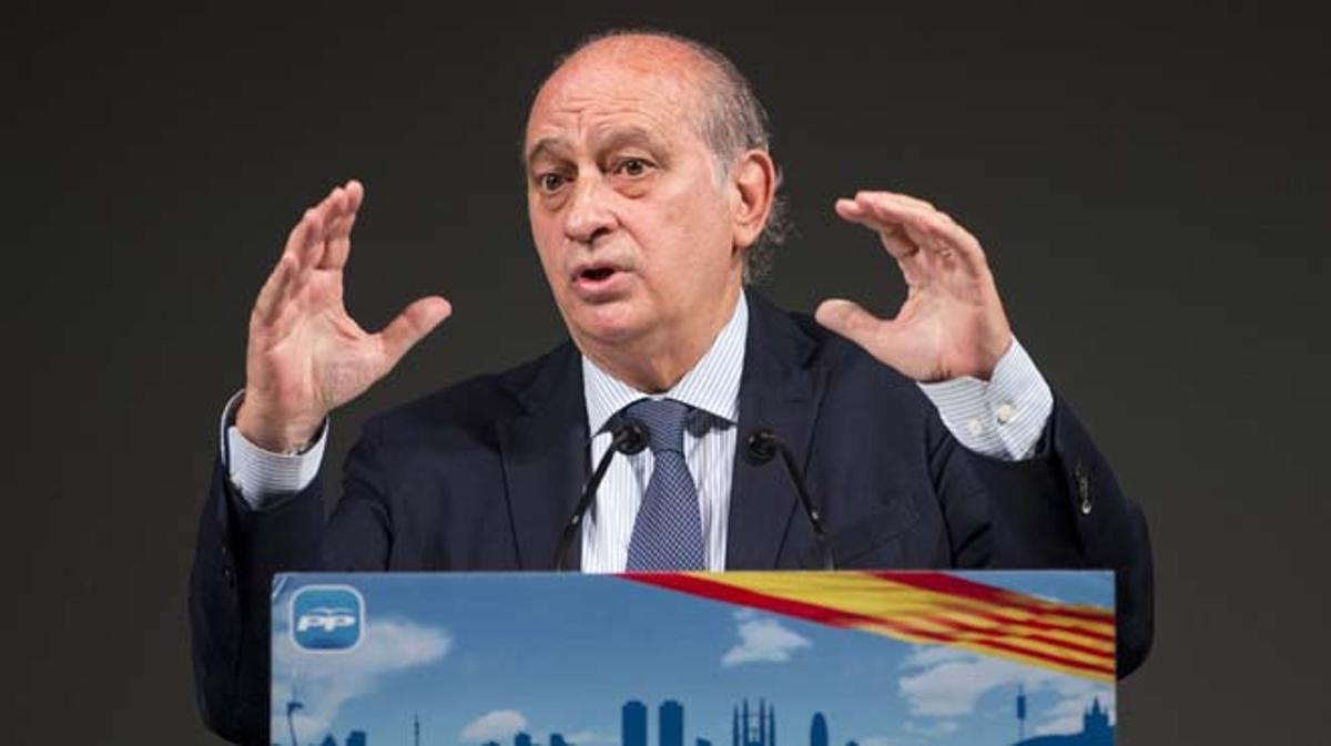 Fernández Díaz cree que los independentistas le consideran la bestia negra.