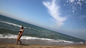 Playa de Gava, en Barcelona