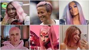 Rosa y viral: la (infecciosa) pegada del pelo rosado