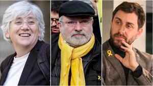 Reactivades les euroordres contra Ponsatí, Puig i Comín