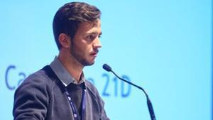 El candidato a alcaldable en L'Hospitalet, Bernat Asensio Borrás.