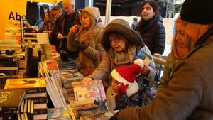 Actividades en el Sant Jordi de Nadal del Club TR3SC