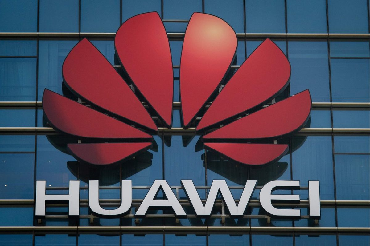 The Huawei logo stands on a Huawei office building in Dongguan in China s southern Guangdong province- British Defence Secretary Gavin Williamson has warned of hisvery deep concernsabout Chinese technology giant Huawei being involved in the use of 5G on Britain s mobile networkThe Times reportedPhoto by Nicolas ASFOURIAFP