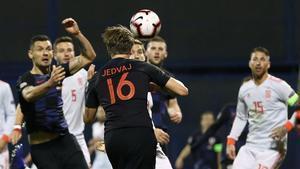España cae en Croacia (3-2) y ya no depende de sí misma