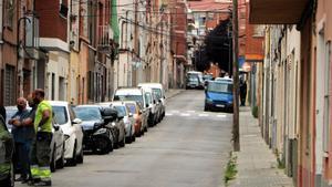 Imagen de archivo del barrio de Ca n'Anglada de Terrrassa.