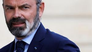El exprimer ministro francés,Edouard Philippe.