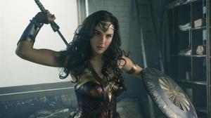 Gal Gadot, en el papel de Wonder Woman.