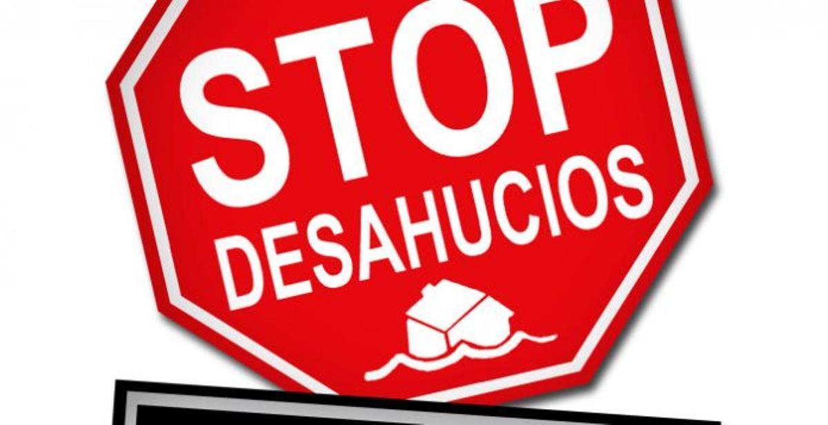 Cartel de Stop Desahucios