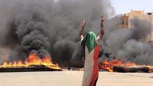 Al menos 35 muertos durante la represión contra los manifestantes el lunes en Sudán.