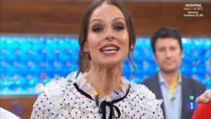 """La fría despedida de Eva González al frente de 'Masterchef': """"Hasta siempre"""""""